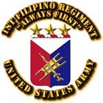 COA - Infantry - 1st Filipino Regiment