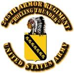 COA - 245th Armor Regiment