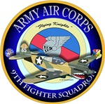 ACC - 9th Fighter Squadron - Flying Knights - P40