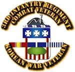 Army - 3rd Infantry Regiment w Korean Svc