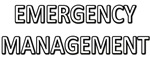 Emergency Management - White
