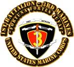USMC - 1st Battalion - 3rd Marines w Txt