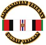 Afhganistan Veteran w Campaign Star