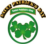 Saint Patrick's Day with text
