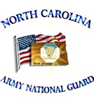 NORTH CAROLINA ARNG With Flag