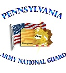 PENNSYLVANIA ARNG With Flag