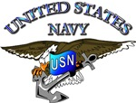 Navy - Eagle with Anchor