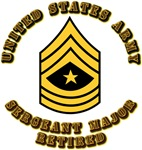 Army - Sergeant Major - Retired