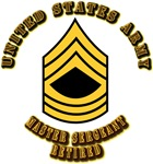 Army - Master Sergeant - Retired