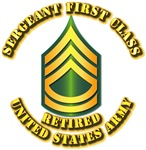 Army - Sergeant First Class E-7 - Retired