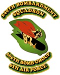 549th Bombardment Squadron, 385th Bomb Group