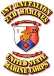 USMC - 1st Battalion - 25th Marines