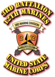 USMC - 3rd Battalion - 12th Marines