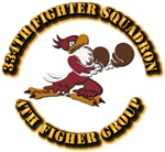 AAC - 334th Fighter Squadron, 4th Fighter Group