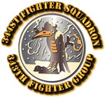 AAC - 344th Fighter Squadron, 343th Fighter Group