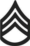 Army - Pin-On - SSG