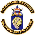 COA - 34th Armor Regiment