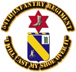COA - 54th Infantry Regiment