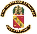 COA - 5th Air Defense Artillery