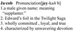 Jacob Definition