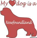 My Heart Dog is a Newfoundland