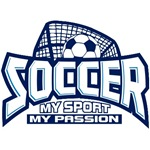 Soccer My Passion T-Shirts and Gifts