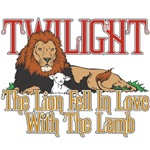 Twilight Lion and Lamb T-Shirts and Gifts