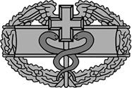 <P>U. S. Army <BR>Combat Medical Badge