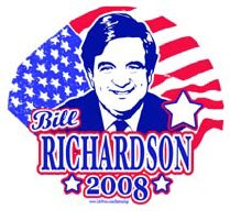 Bill Richardson 2008 Gear