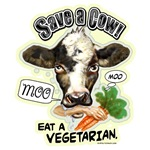 Save The Cow Eat A Vegetarian Gear