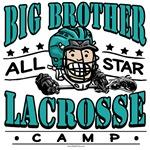 Big Brother Lacrosse Teal