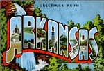 Arkansas Vintage Postcard