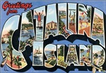 Catalina Island Vintage Postcard