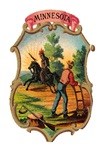 Minnesota Vintage Coat of Arms