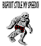 BIGFOOT STOLE MY SPEEDO!