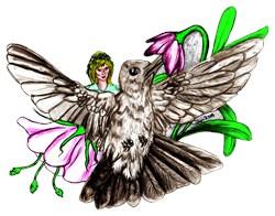 Hummingbird Fairy Fantasy