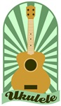 Green Sunburst Ukulele