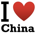 I Love China Light Tee