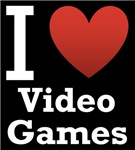I Love Video Games Dark Tee