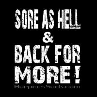 SORE AS HELL