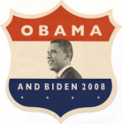 Obama / Biden JFK '60-Style Shield Store