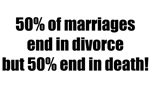 marriage, divorce and death