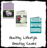 Healthy Lifestyle Greeting Cards
