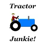 Blue Tractor Junkie