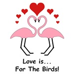 Love For Birds Flamingos