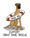 Support Great Dane Rescue (Fawn nat)