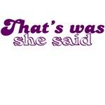 funny women said