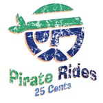 pirate rides 25 cents tshirts