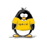 Special penguin