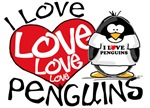 I Love Love Love Penguins